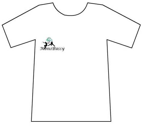Tee-shirt de Monocycle Monobussy
