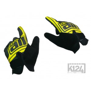 Gants try-all fin jaune pour Monocycle