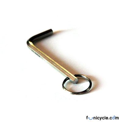93ed126938fc Clé Allen 5mm Porte Clé pour Colliers de Selle de Monocycle Agrandir l image