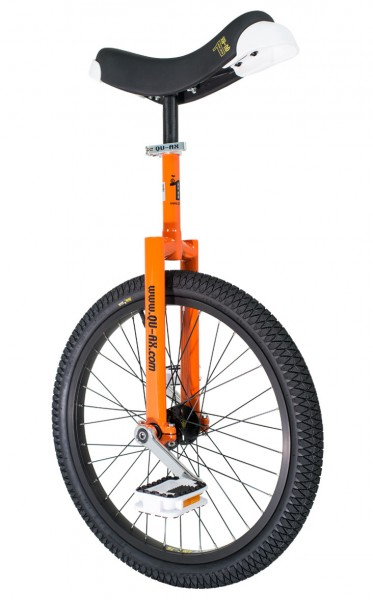 Monocycle Freestyle Qu-ax Orange Luxus Club Débutant Enfant/Adulte 20 Pouces/406mm
