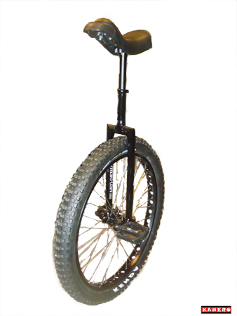 Monocycle Kahero Blanc - Street/Trial/Flat 24 Pouces/507mm