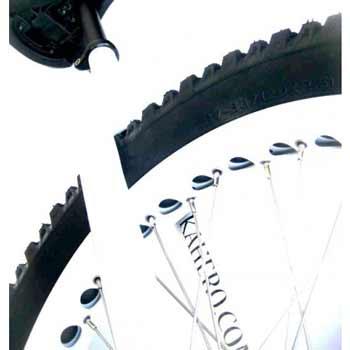 Monocycle Kahero Muni Alu Noir/Blanc 26 Pouces/559mm  Coup de C
