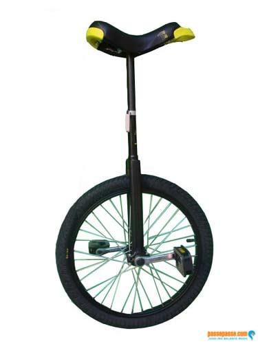 Monocycle Qu-ax Luxus - Freestyle/Débutant 20 Pouces/406mm