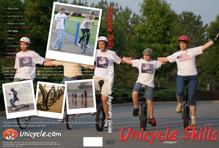 Les Figures de Monocycle - Dvd
